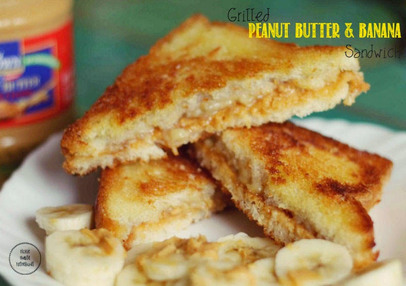 Elvis S Grilled Peanut Butter Banana Sandwich Tickle Those Taste Buds