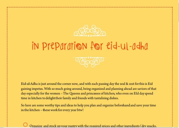 Curly Fries: Eid-ul-Adha 2015