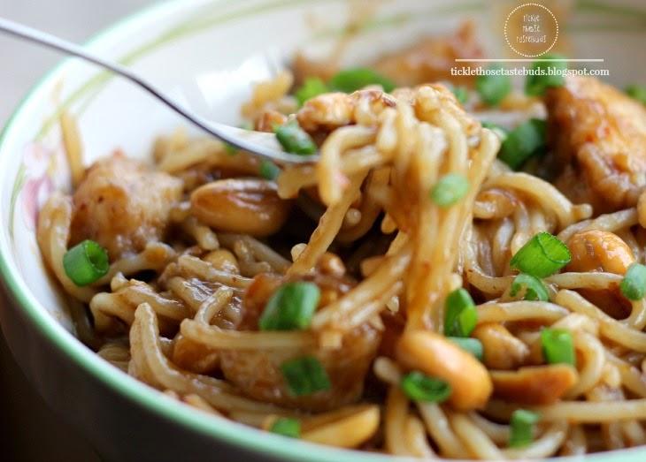 Kung-Pao-Chicken-Spaghetti-Recips