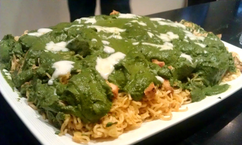 Creamy-Spinach-Sauce-MAGGI-Noodles
