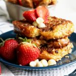Crispy french Toast with Macadamia Nuts