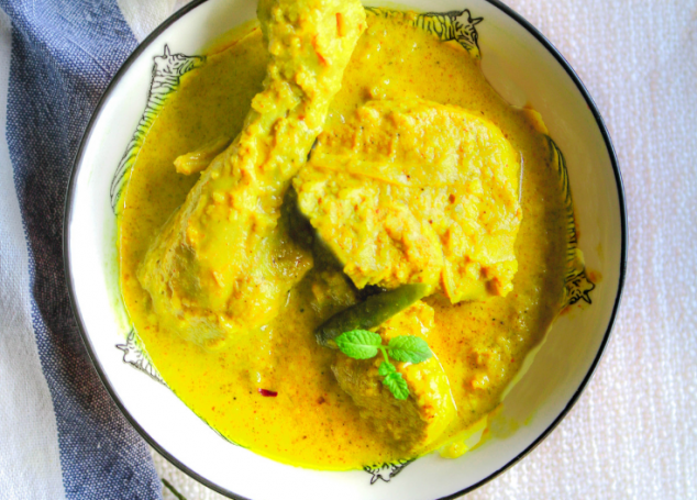 Creamy Turmeric Chicken Curry
