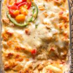 Creamy-Chicken-Pasta-Bake-with-Bechamel-Sauce