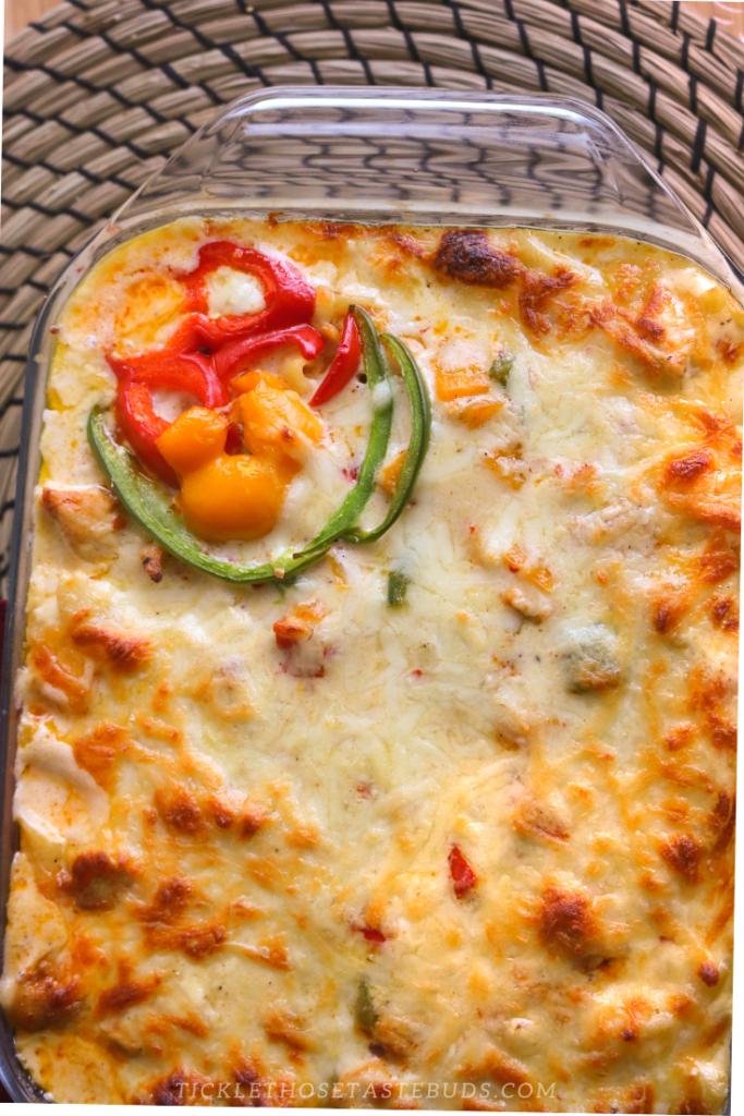 Cheesy-chicken-pasta
