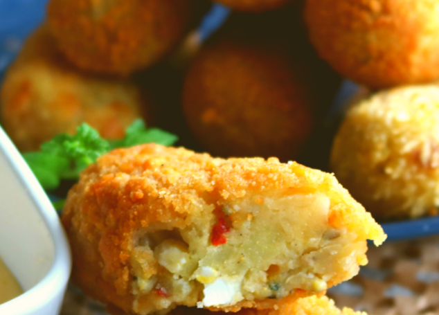 Potato and Egg Croquettes