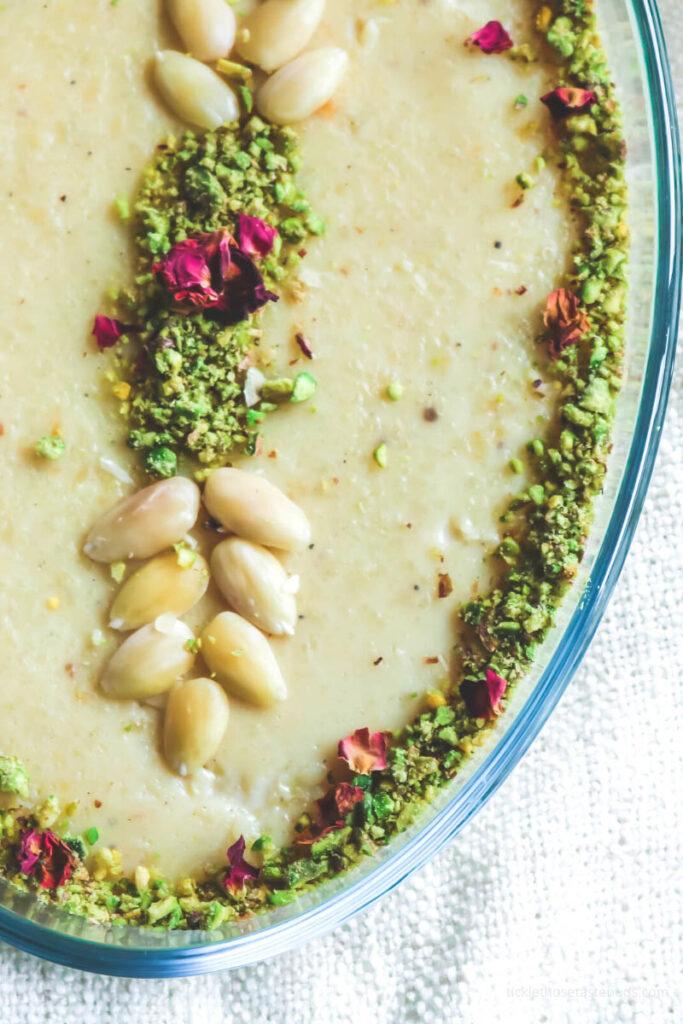 Almond-rice-Pudding